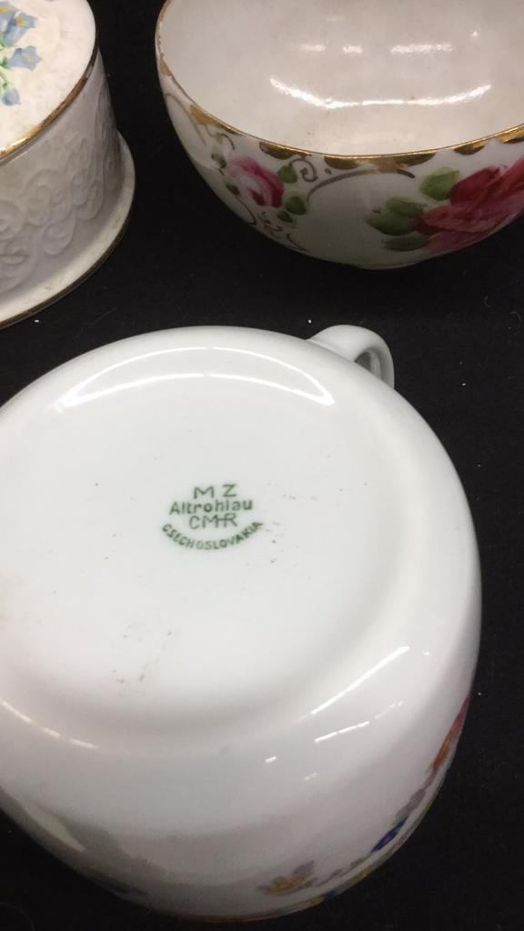 7 Piece China Set Of Mixed Marked Items - 10