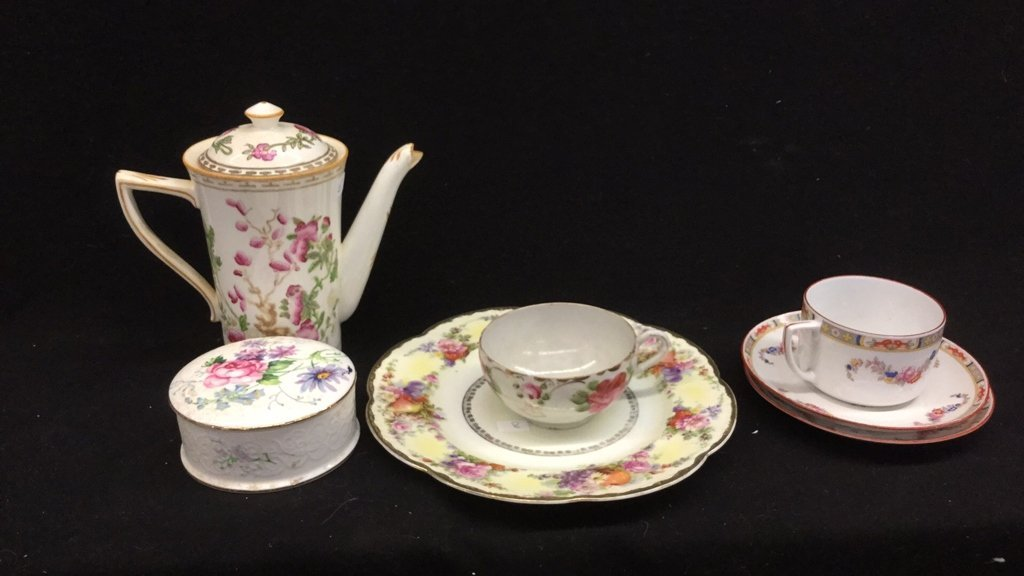 7 Piece China Set Of Mixed Marked Items