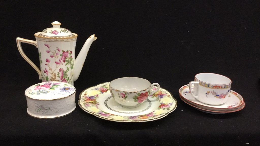 7 Piece China Set Of Mixed Marked Items - 2