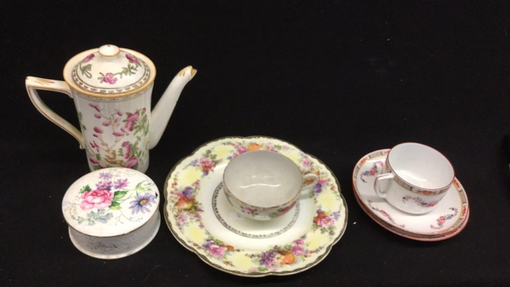 7 Piece China Set Of Mixed Marked Items - 3