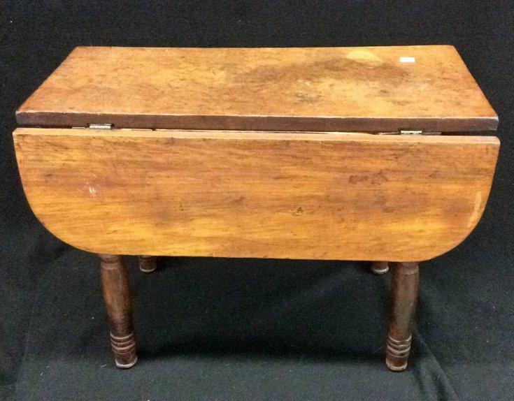 Antique Drop Leaf Small Table