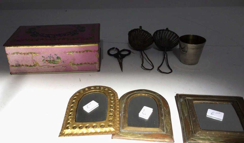 Assorted Antique Vanity Item
