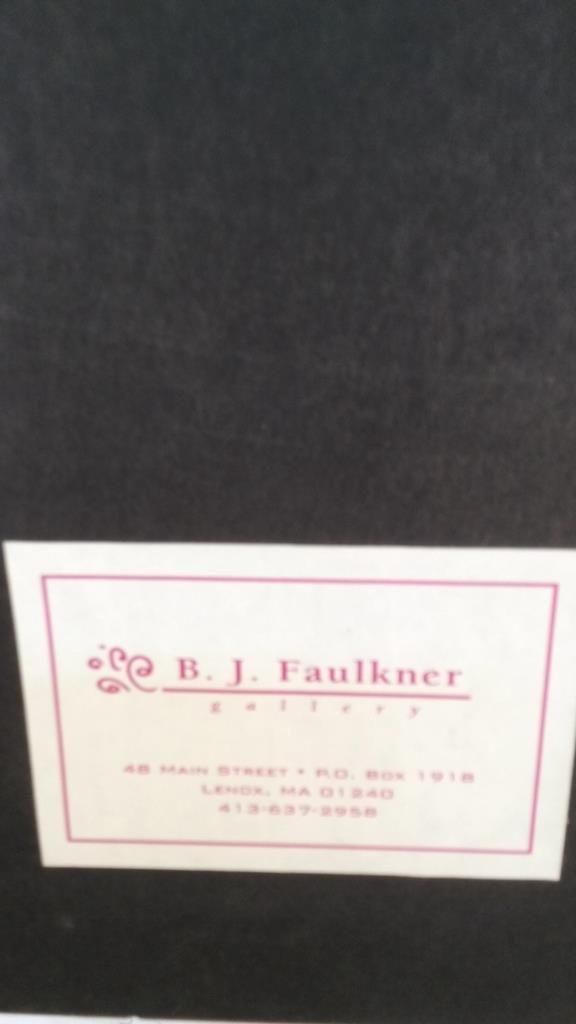 Faulkner Signed Water Color 1994 - 9