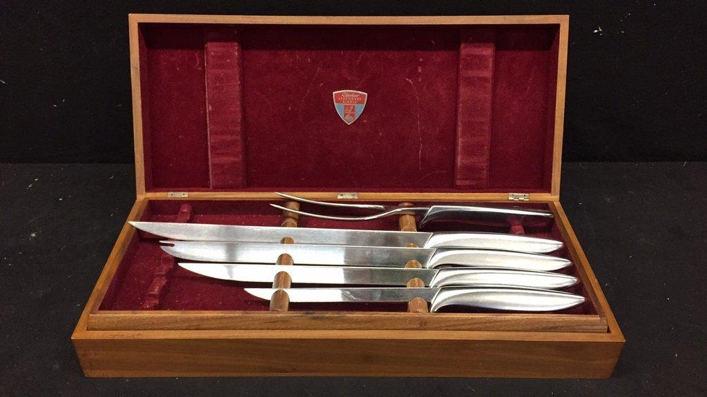 GERBER RON Steak Carving Set Boxed