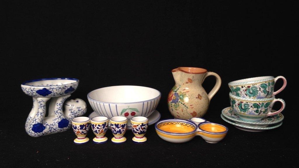 13 Piece Pottery Group Lot