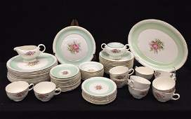 CANONSBURG Partial Set of MOONGLO China Pattern