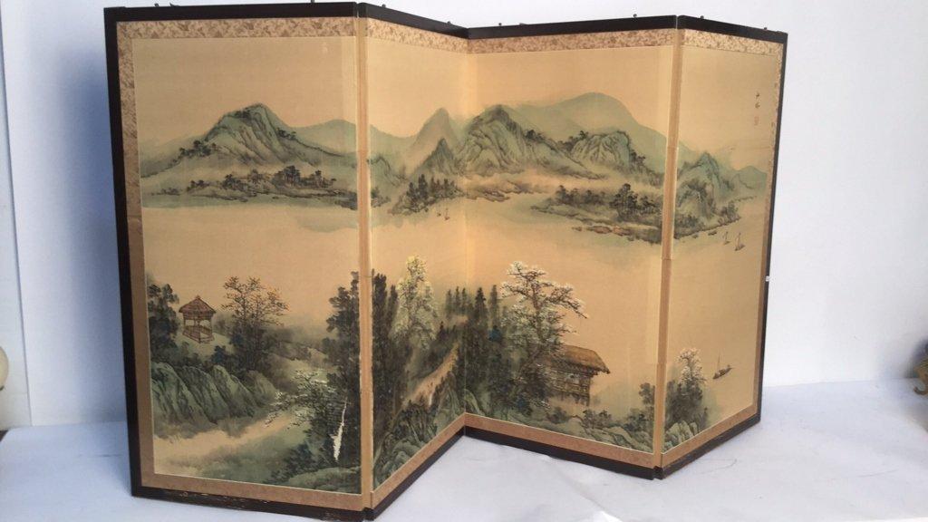 Vintage Asian Screen