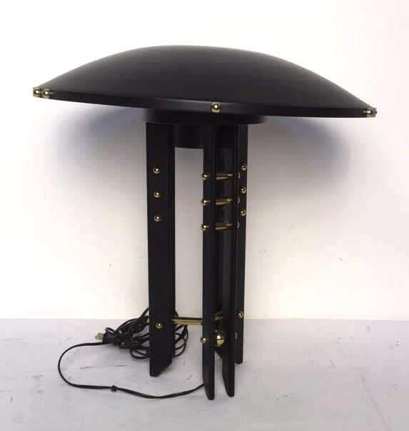 Black and Gold Colored Lamp - 2