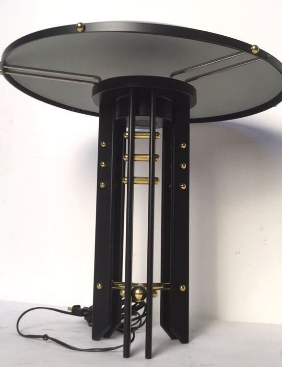 Black and Gold Colored Lamp - 3