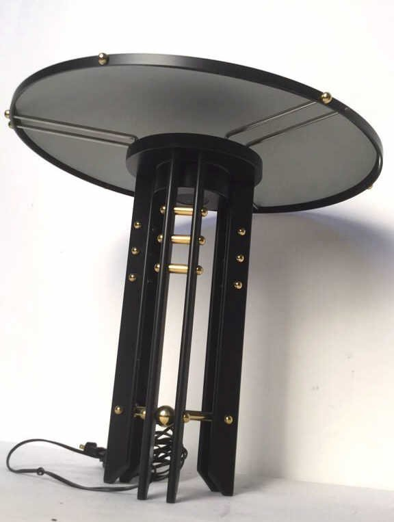 Black and Gold Colored Lamp - 4