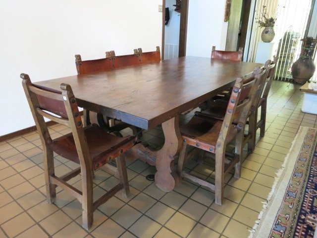 Spanish Baroque Style Dining Table