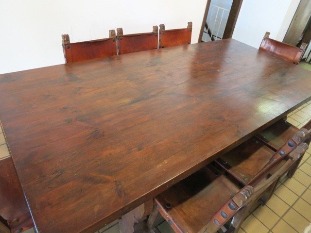 Spanish Baroque Style Dining Table - 2