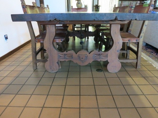 Spanish Baroque Style Dining Table - 3