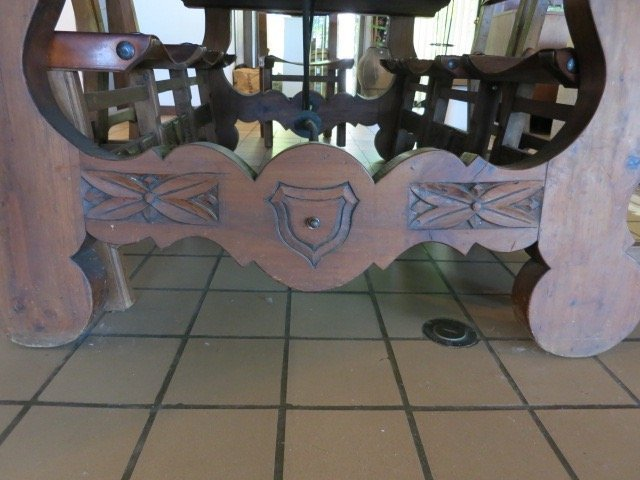 Spanish Baroque Style Dining Table - 4