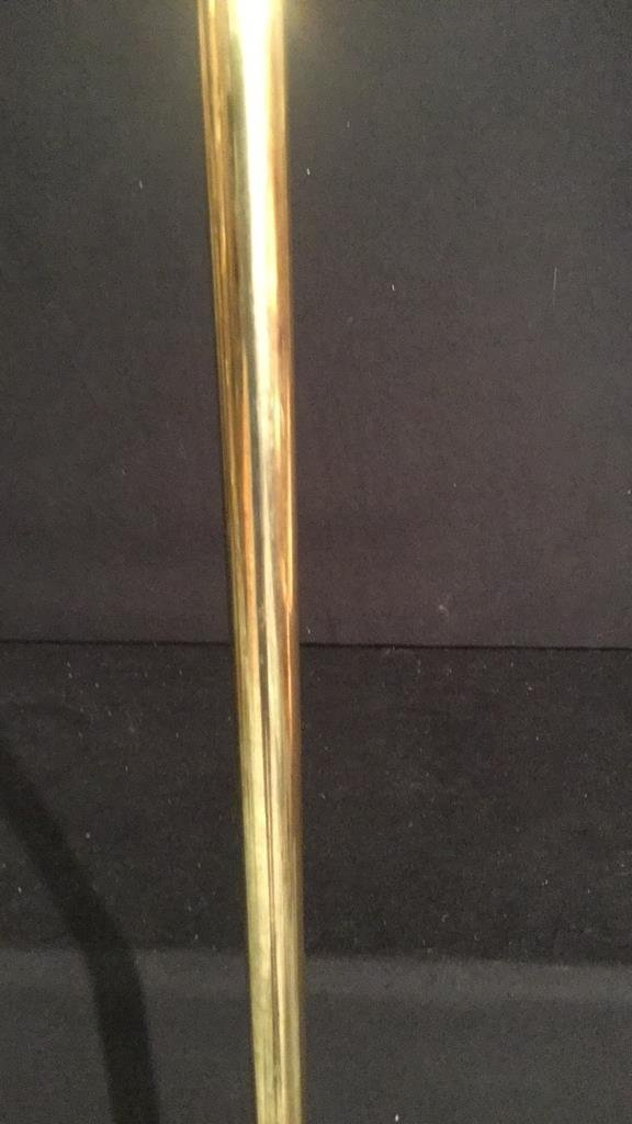 Vintage Brass Floor Lamp - 3
