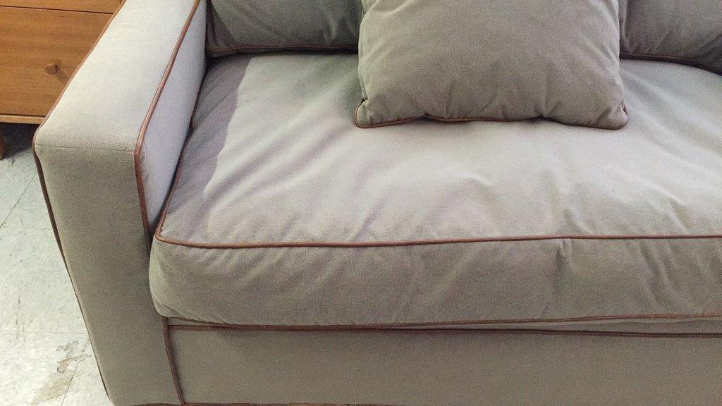Ralph Lauren Streamline Upholstered Sofa - 4