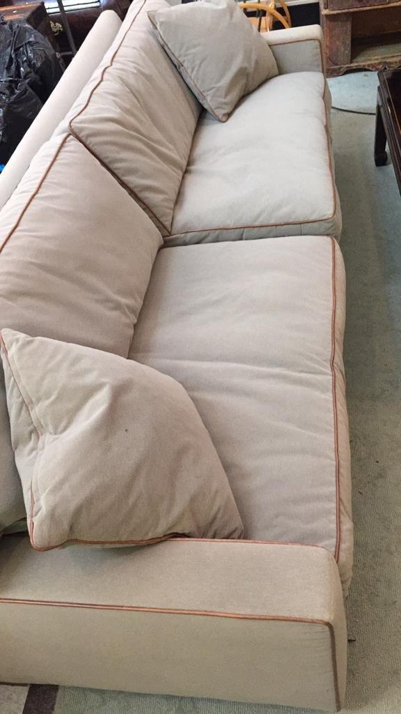 Ralph Lauren Streamline Upholstered Sofa - 2