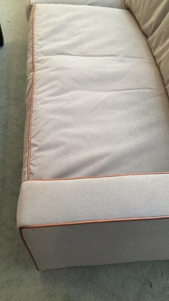 Ralph Lauren Streamline Upholstered Sofa - 5