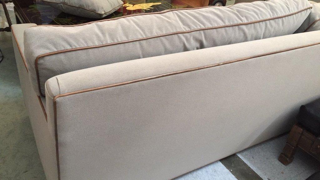 Ralph Lauren Streamline Upholstered Sofa - 7