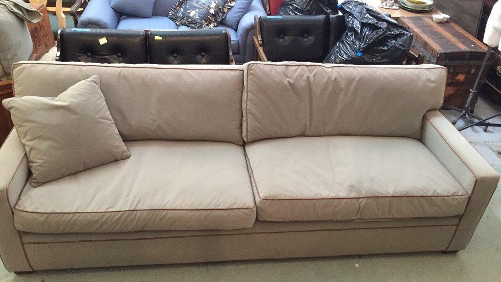 Ralph Lauren Streamline Upholstered Sofa - 8