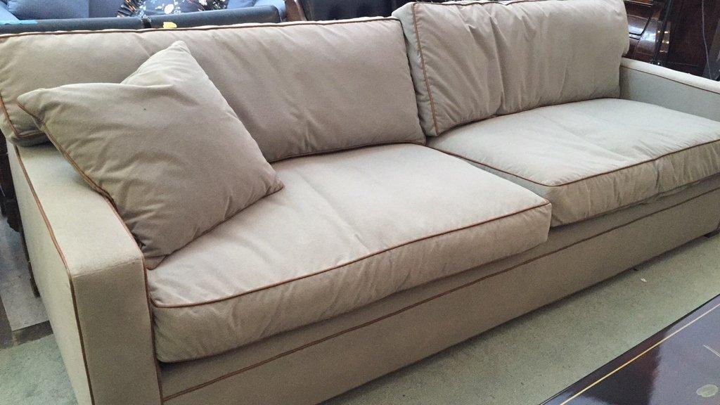 Ralph Lauren Streamline Upholstered Sofa - 9