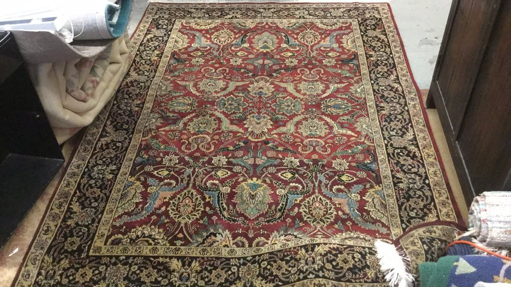 Hand Knotted Wool ABC Carpet Area Rug