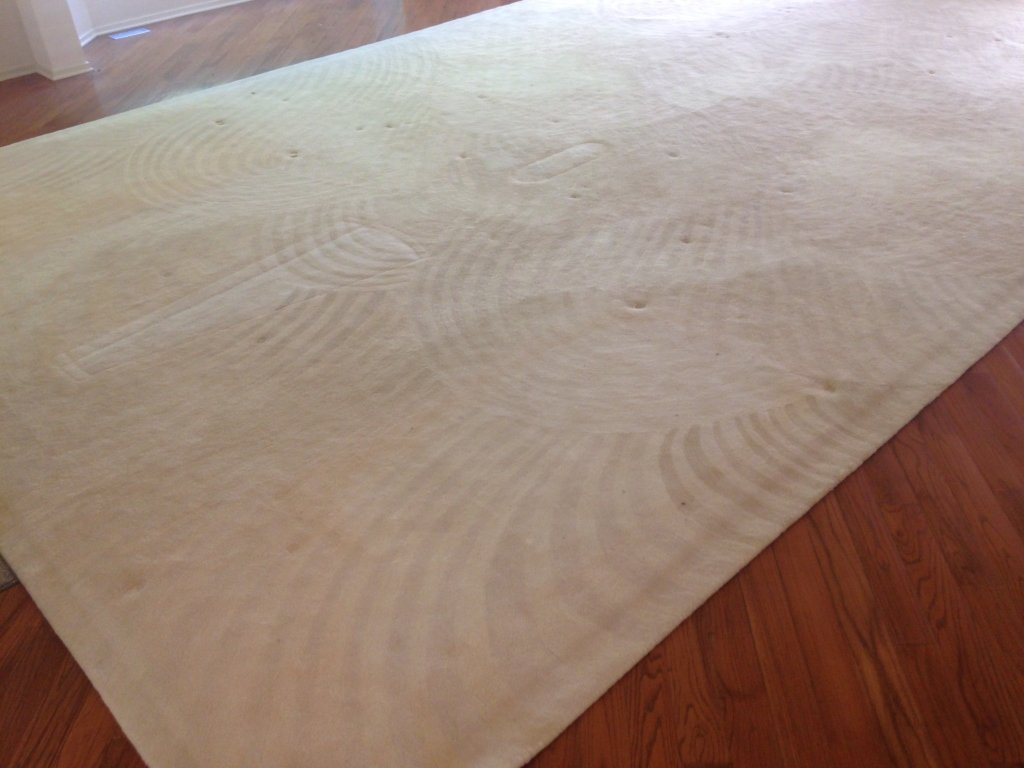 Stark Carpet Corp. Custom White Color Carpet