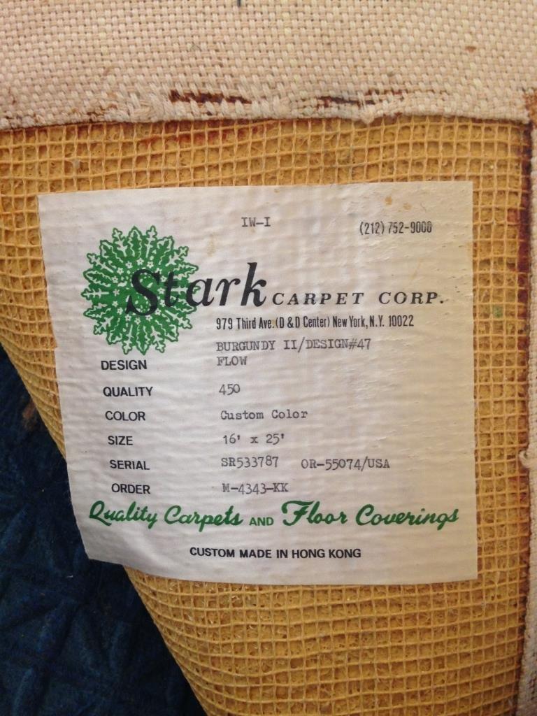 Stark Carpet Corp. Custom White Color Carpet - 5