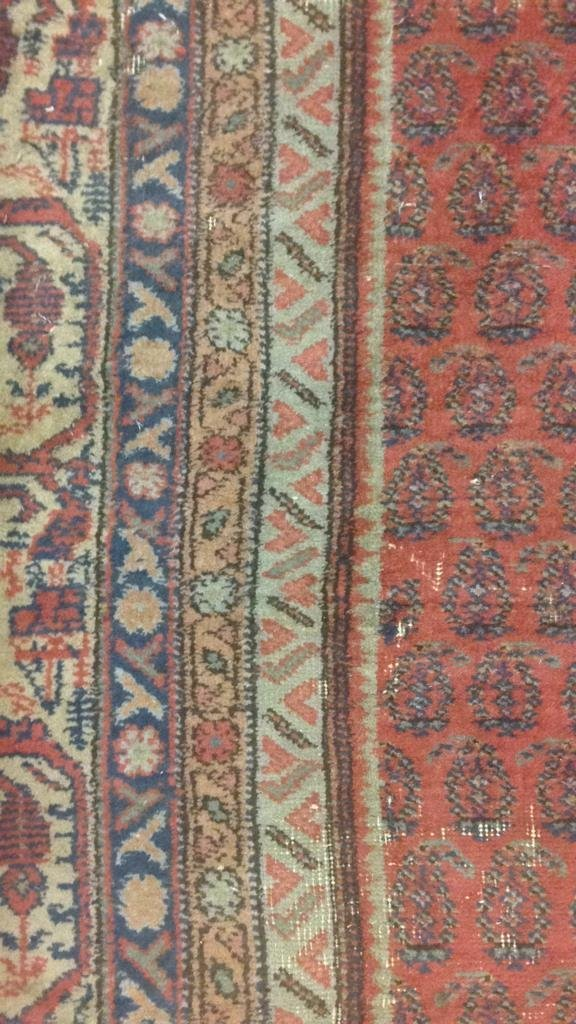 Antique Hand Made Wool Rug - 5