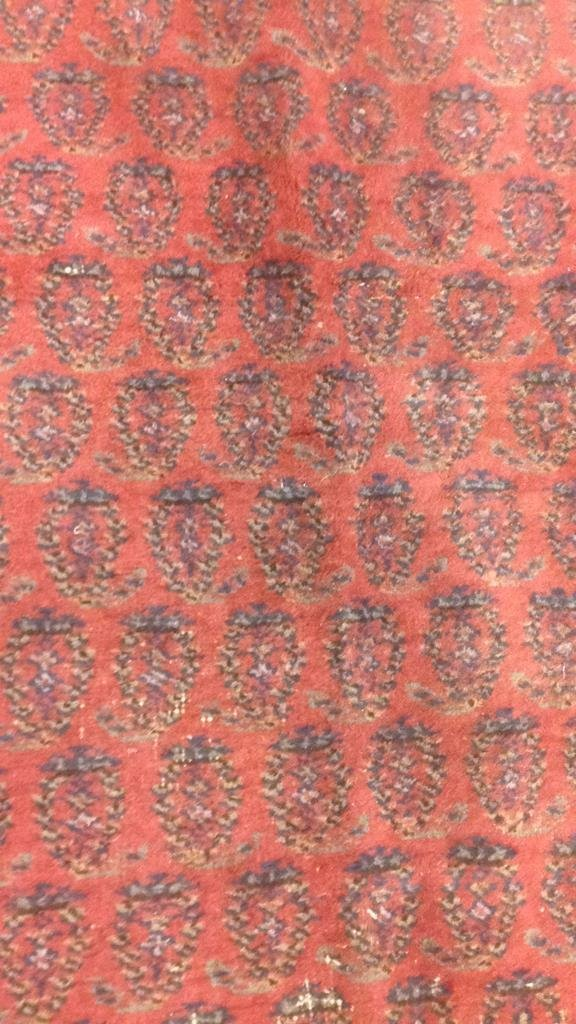 Antique Hand Made Wool Rug - 7