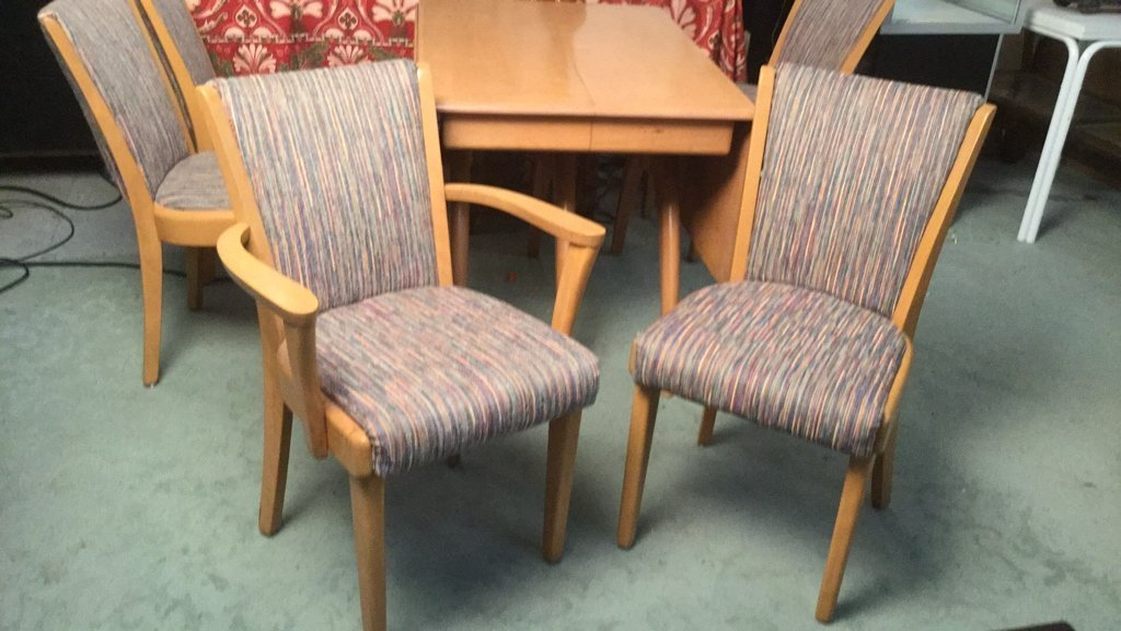 Heywood Wakefield Dining Table and Chairs - 3
