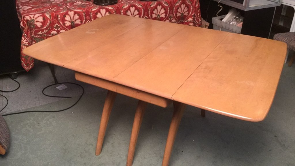 Heywood Wakefield Dining Table and Chairs - 7