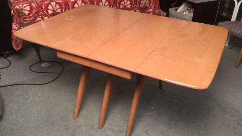 Heywood Wakefield Dining Table and Chairs - 8