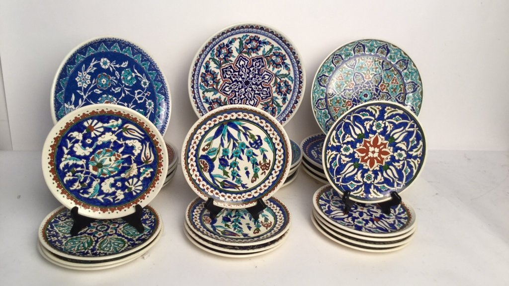 Frank Macintosh Turkish Plate Set