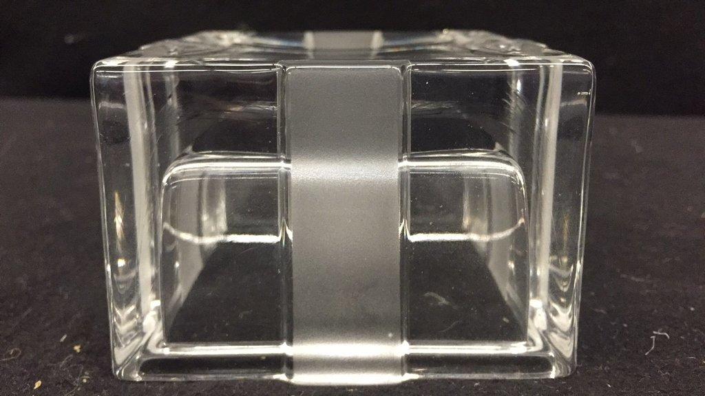 TIFFANY & CO Crystal Jewlelry Box w Bow - 7