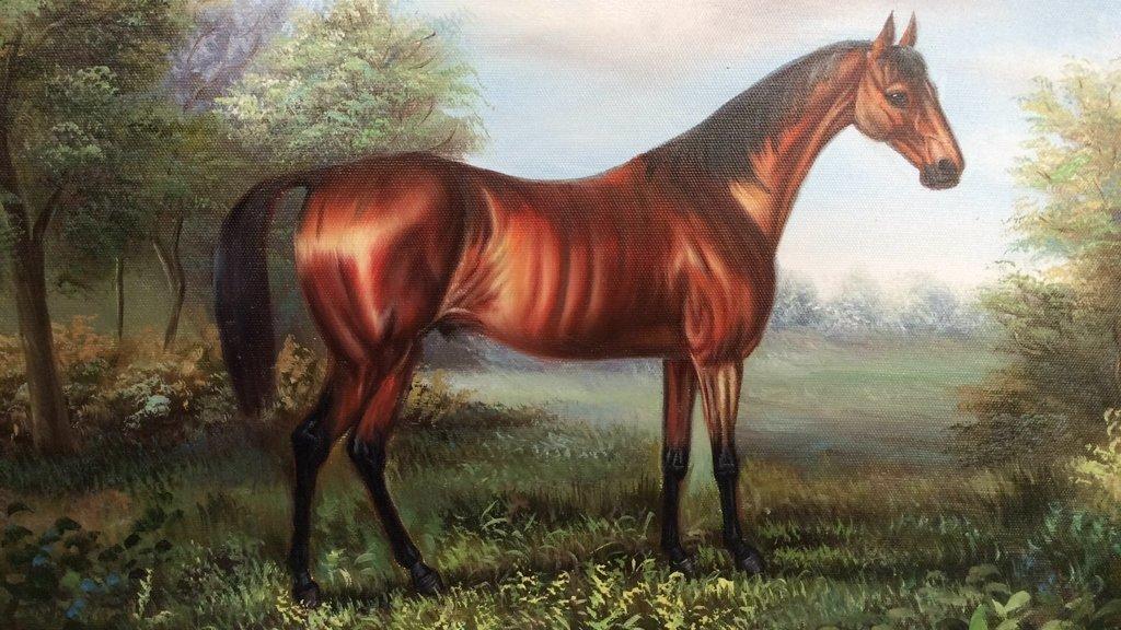 JAMES THIEME Signed Oil on Canvas - 5