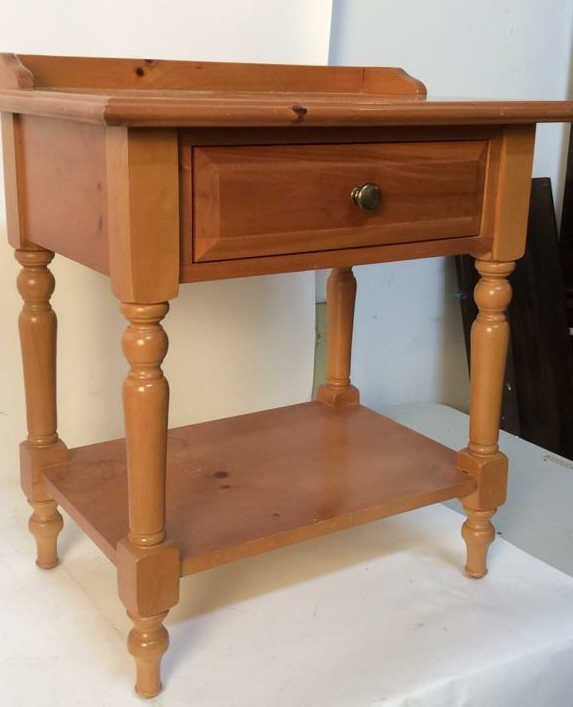 Country pine night stand
