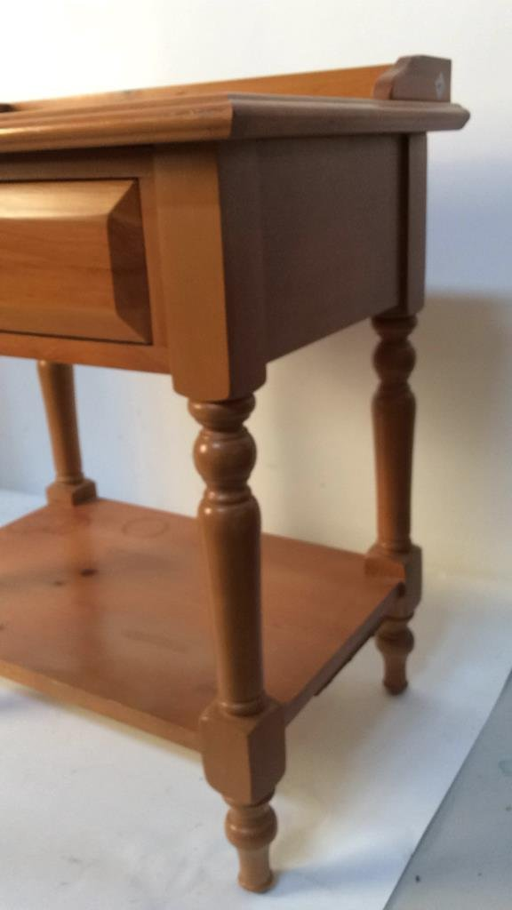 Country pine night stand - 2