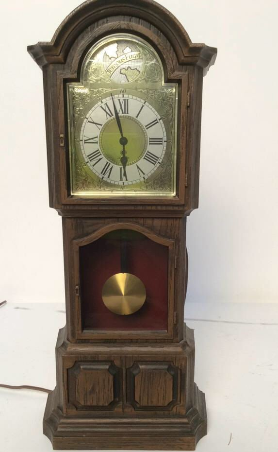 decorative electric mantel clock