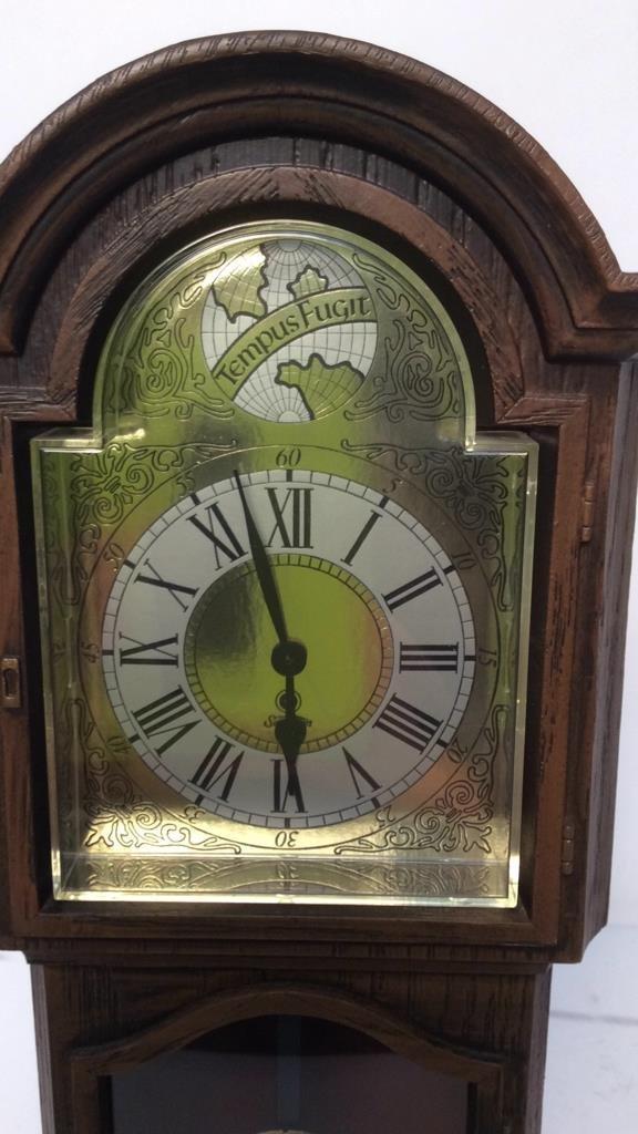 decorative electric mantel clock - 2