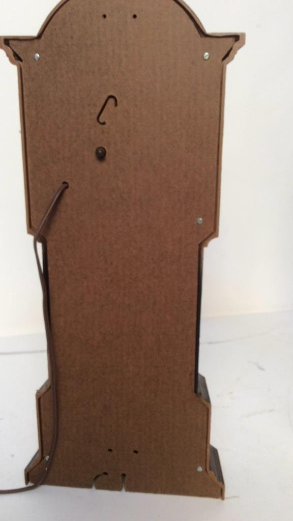 decorative electric mantel clock - 4