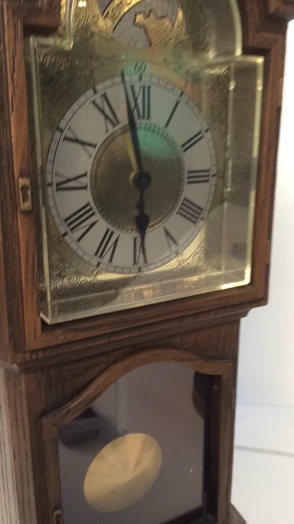 decorative electric mantel clock - 5