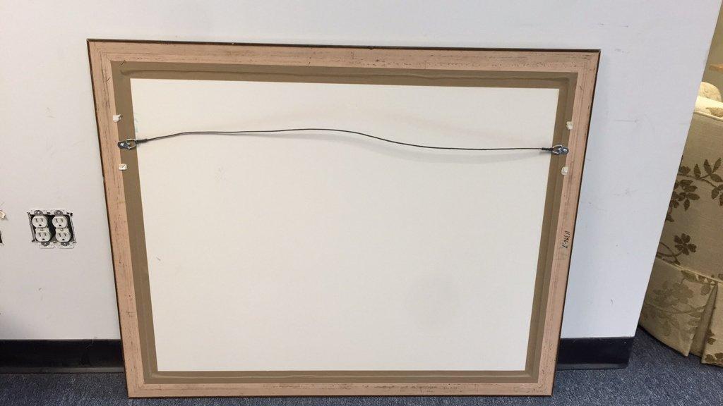 Silver Leaf Framed Artwork - 3