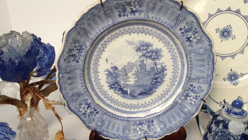Group Lot Wedgewood, Blue and White Porcelain - 5