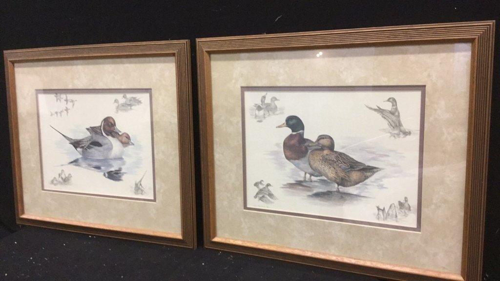 Pair of Nighh Hamming Duck Prints