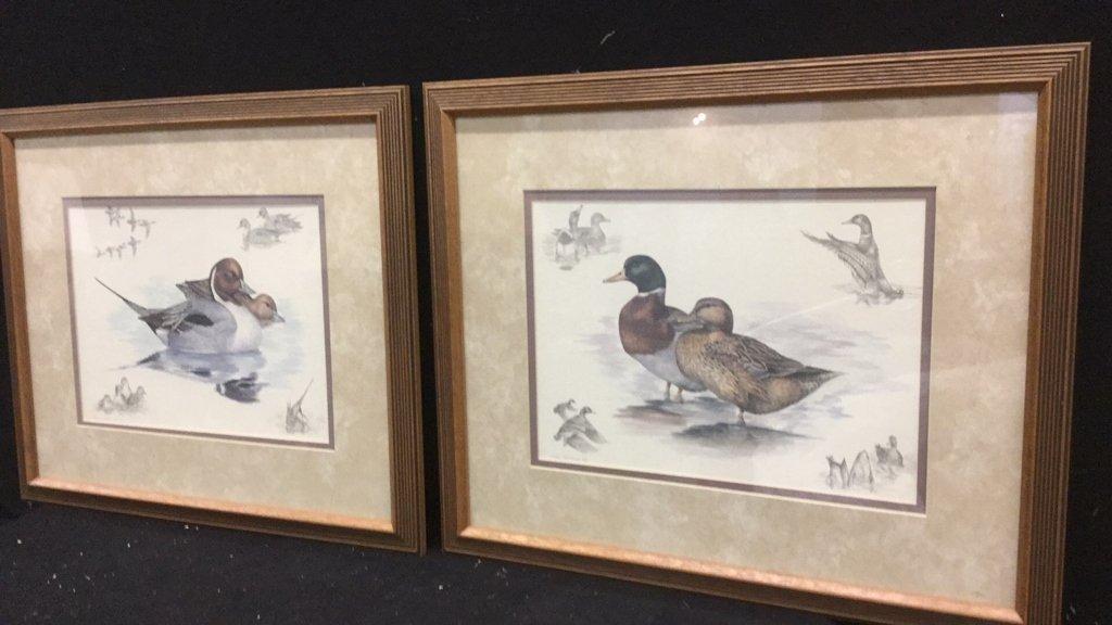 Pair of Nighh Hamming Duck Prints - 2