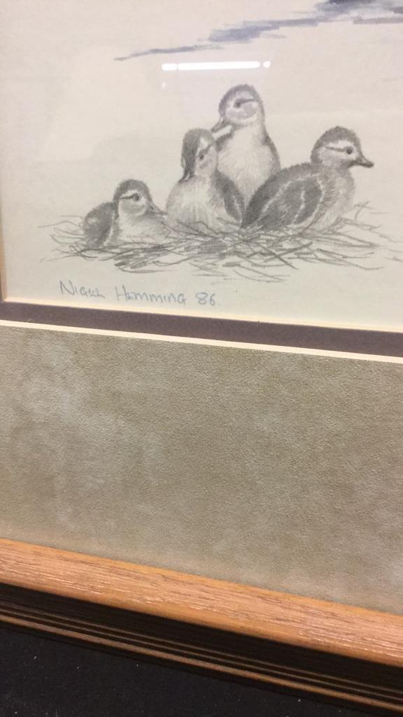 Pair of Nighh Hamming Duck Prints - 6
