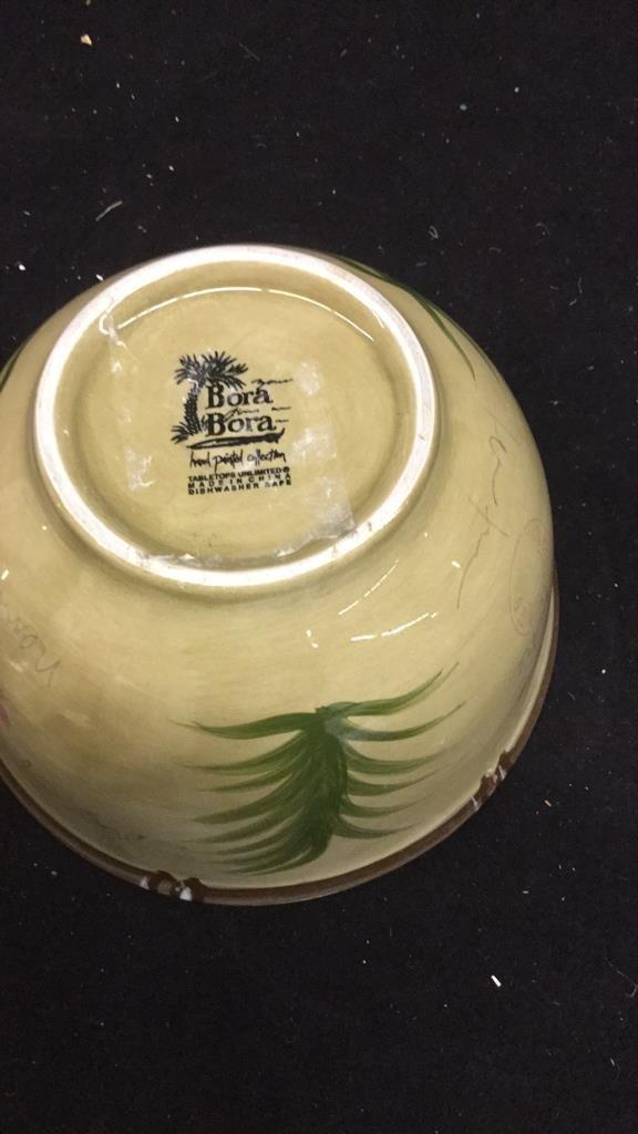 Set of 6 Decorative Art Bowls - 10
