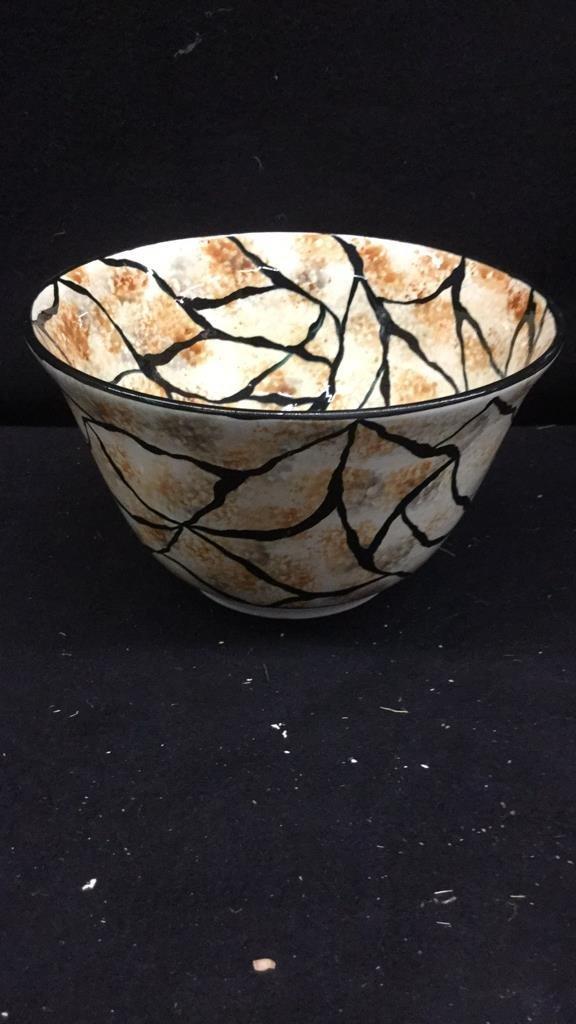 Set of 6 Decorative Art Bowls - 4