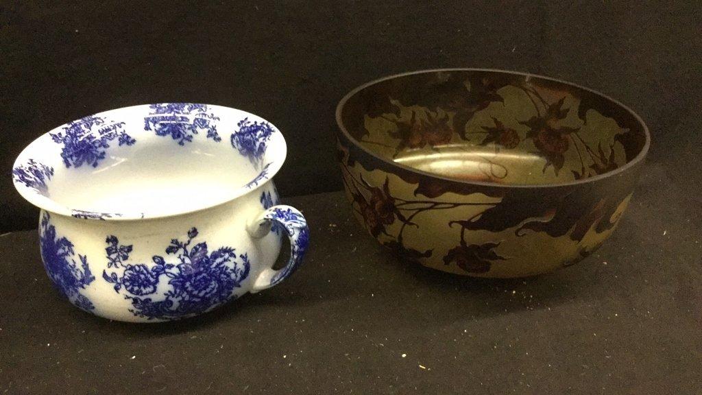 Set of 6 Decorative Art Bowls - 6